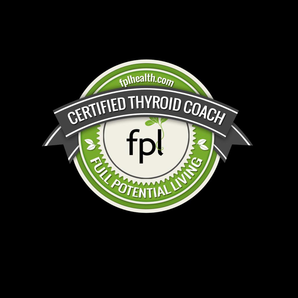 Certified Thyroid Health Coach Badge