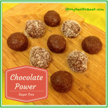Chocolate Energy (Sugar Free) Protein Balls