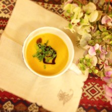 Butternut Squash and Lemongrass Bisque