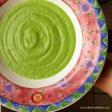 Raw Hydrating Pea & Avocado Soup